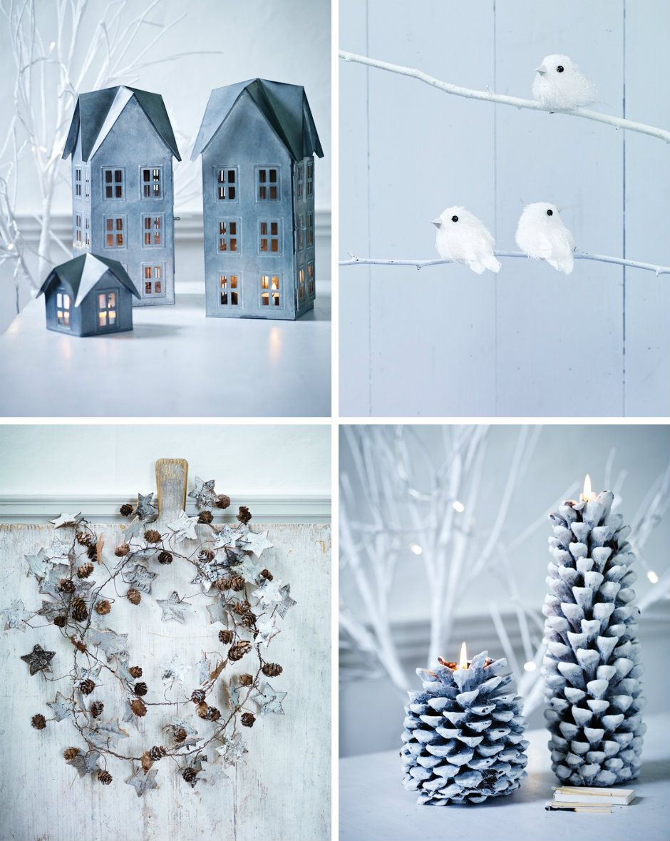 Gorgeous Christmas decor/accents—love these chic looks/designs❣ Cox & Cox • via happinessisblog.com