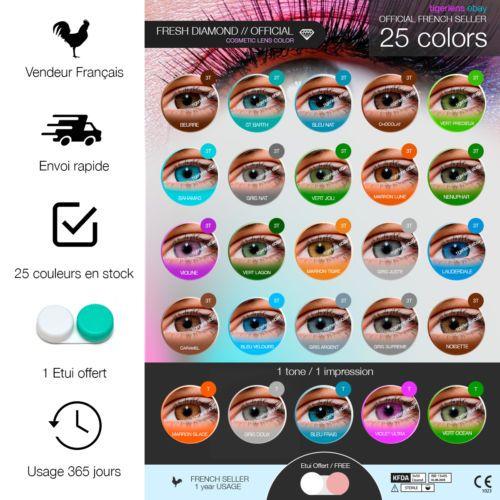 ba47af6a2ad604 Lentilles de couleur - 1 an - contact lenses coloured - lens colored ...