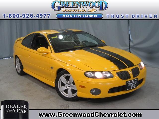 2004 Pontiac GTO - $13,995  Greenwood Chevrolet  1-888-422-8781