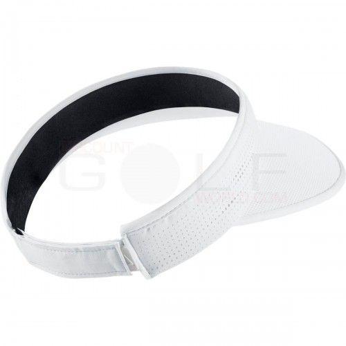 f7b4ef5651b Nike Ladies Large Brim Velcro Back Visors-Available in White