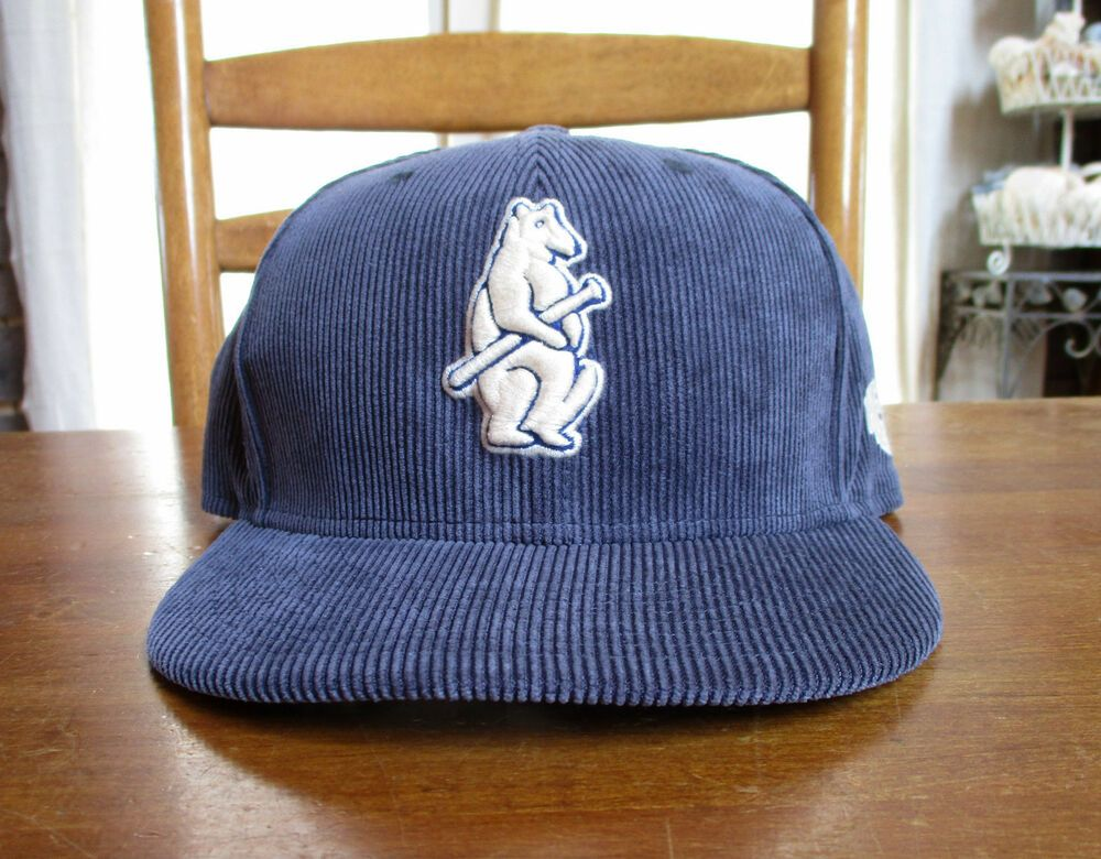 exquisite design vast selection where can i buy New Era Chicago Cubs 9Fifty Throwback Bear Corduroy Snapback ...