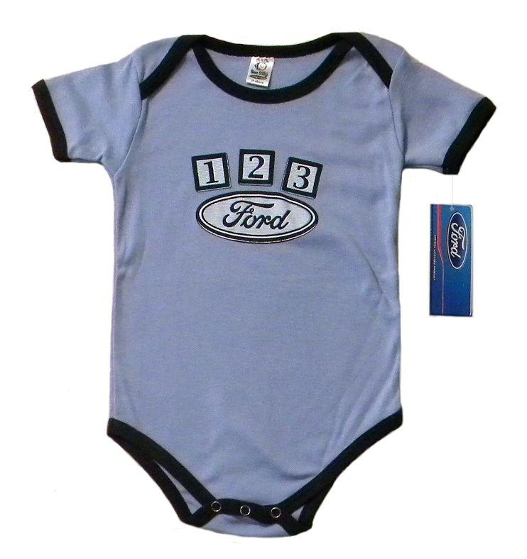 100/% Cotton Fo-rd Logo Bodysuits Cute Short Sleeve Infant Onesies For Baby//Toddler Boys/&Girls