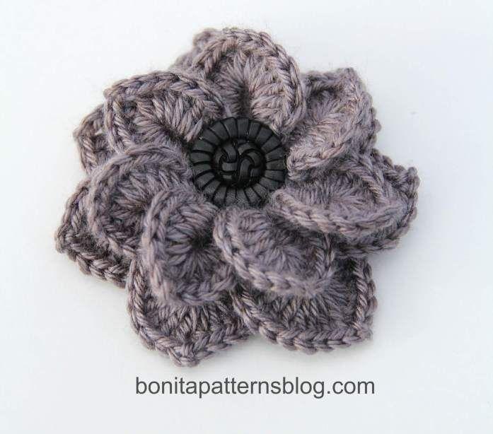 Top 10 Free Crochet Flower Patterns | Crochet flowers, Crochet ...