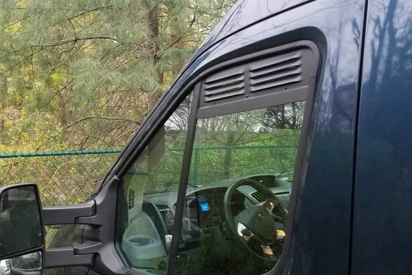 Transit Van Cab Window Air Vent Inserts Pair Van Upgrades Window Vents Ford Transit Camper Ford Transit