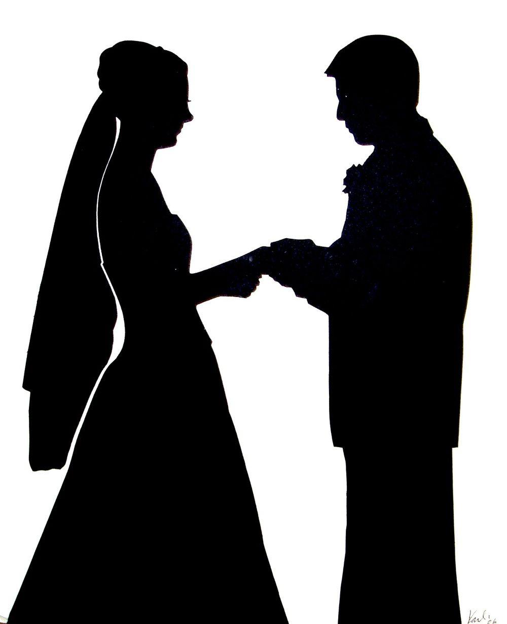 Wedding silhouette ring on fingerg schattenpaar pinterest wedding silhouette ring on fingerg junglespirit Gallery