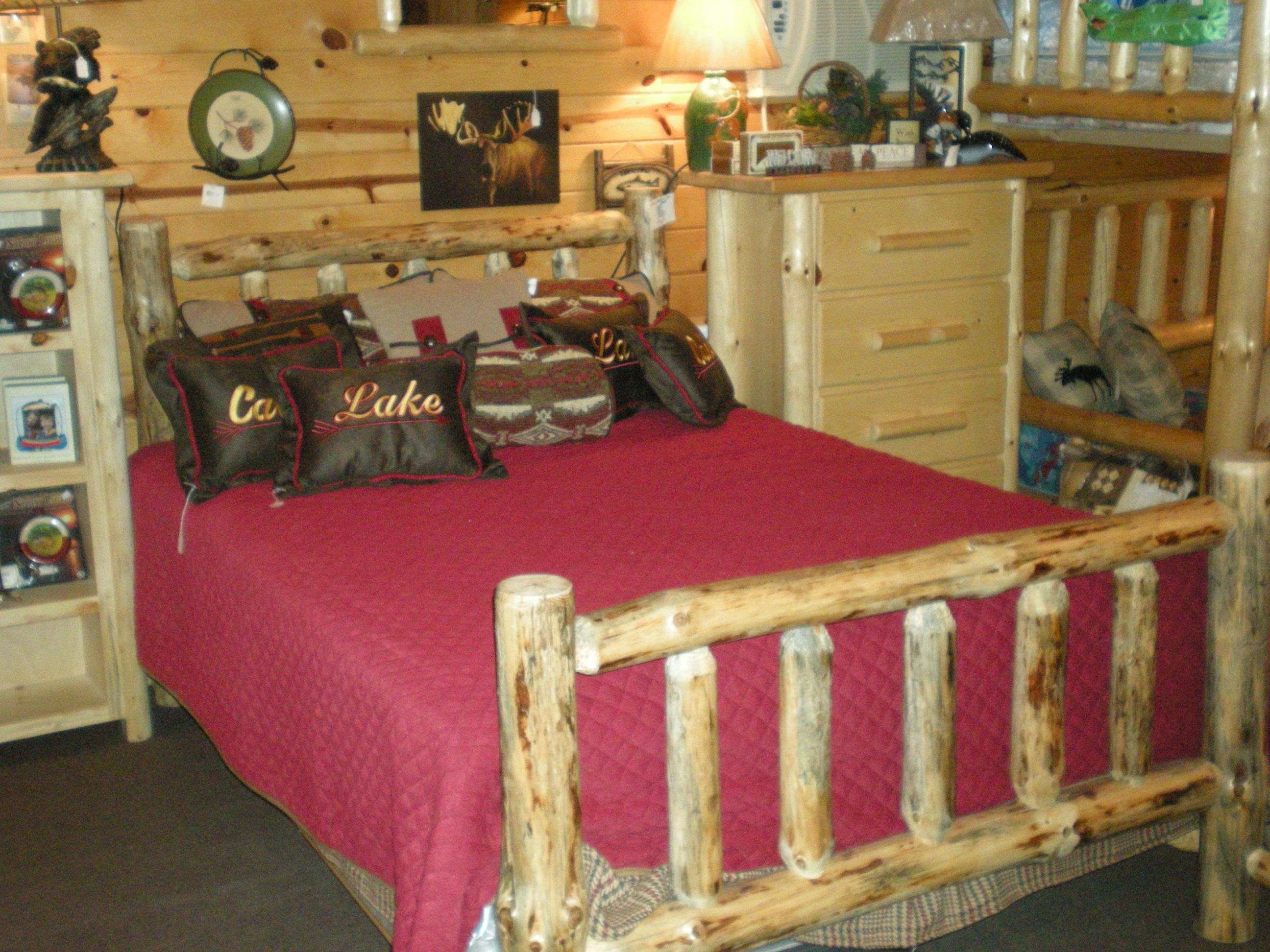 Twist Of Nature S Standard Log Bed Available Fully