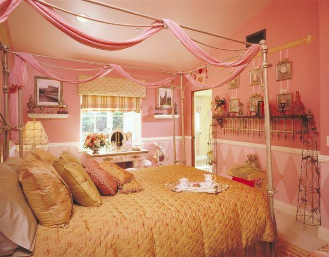 Pink princess bedroom MY DREAM BEDROOM!!! Pinterest Princess