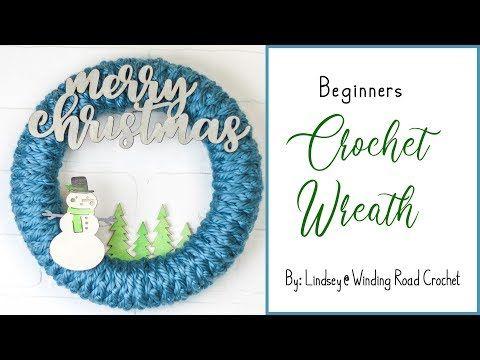 Photo of Crochet: crochet wreath for beginners