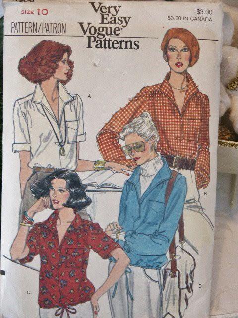 Vintage Very Easy Vogue 1980s Classy Misses by LadyJanetvintage