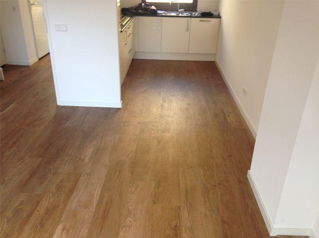 Mflor pvc vloer eindhoven woonhuis keuken en woonkamer. mflor