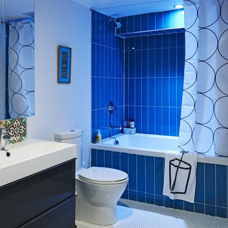 Blue bathroom | live from IKEA FAMILY