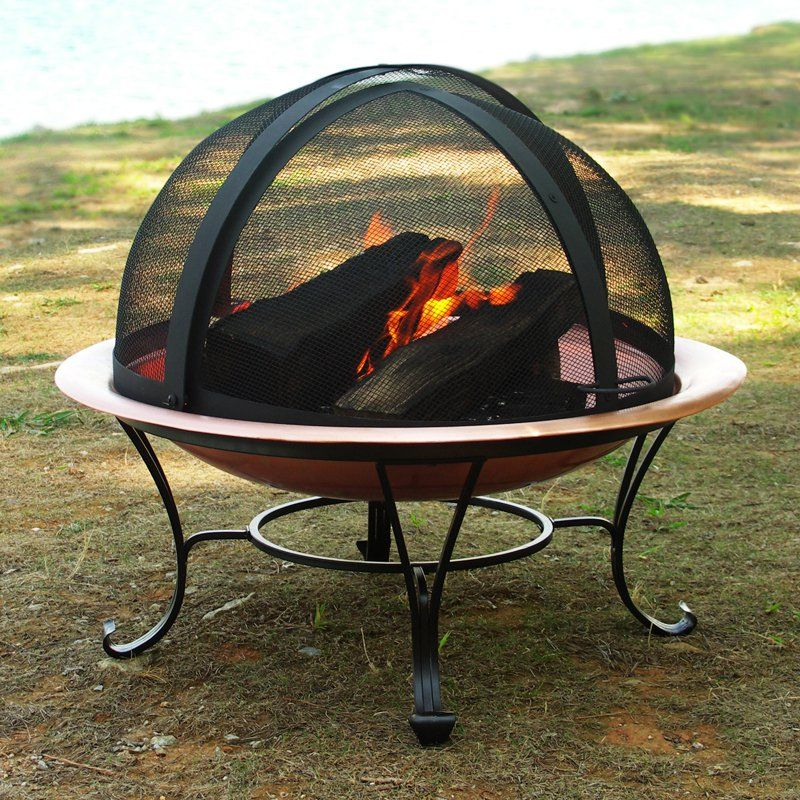 Have To Have It Easy Access Replacement Spark Fire Pit Screen 56 Hayneedle Fire Pit Screen Fire Pit Accessories Fire Pit Dome