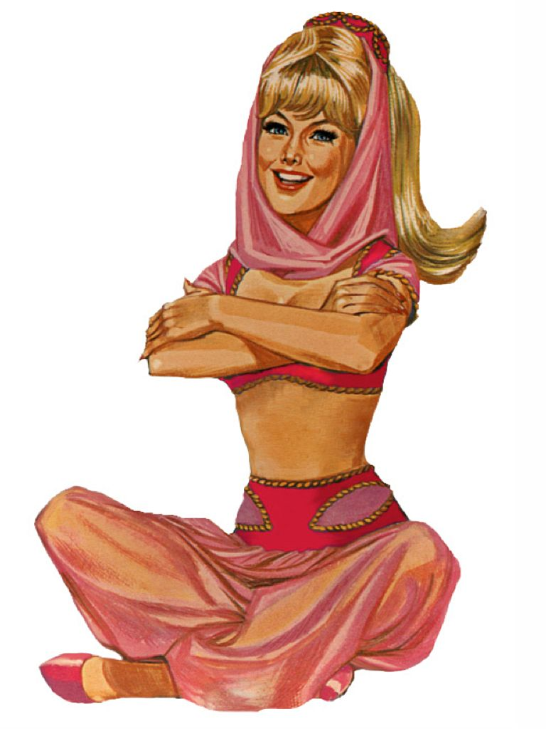 I Dream Of Jeannie Game Art I Dream Of Jeannie Old Hollywood Movies Lady In My Life