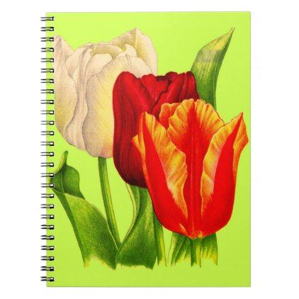 Tulips print notebook floral style flower flowers stylish diy tulips print notebook floral style flower flowers stylish diy personalize mightylinksfo