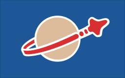 Lego Space flag for KSP Kerbal Space Program Lego