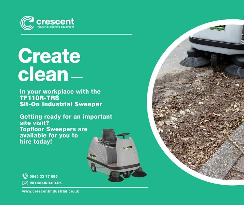 Ride on Floor Sweeper Industrial flooring, Clean sweep