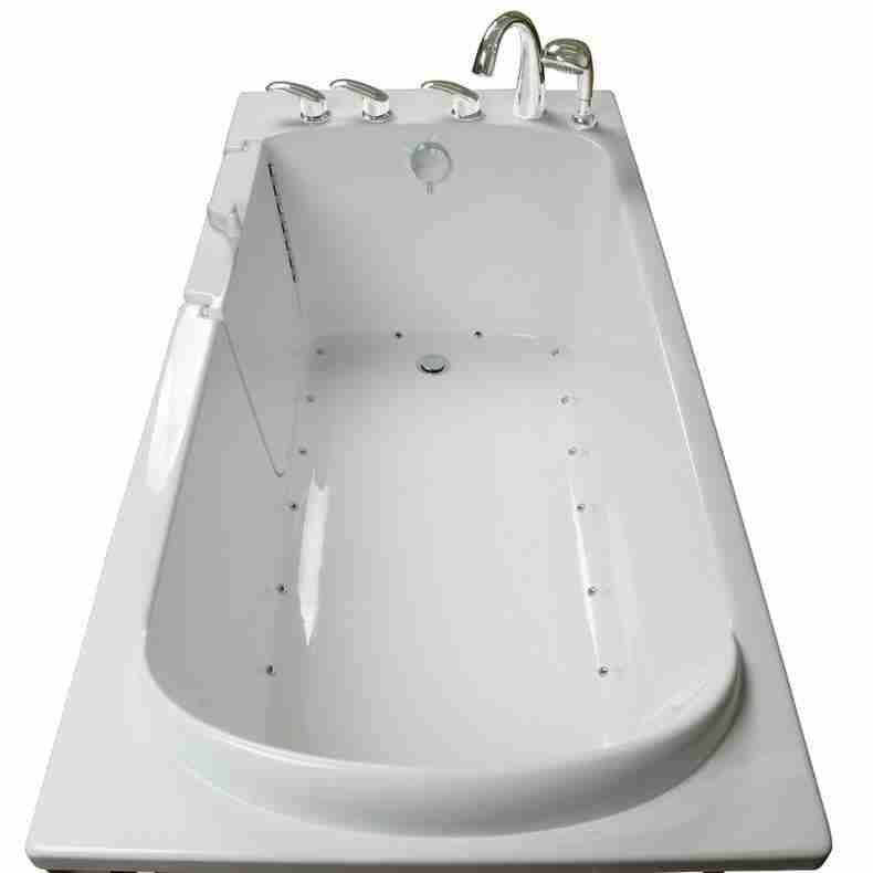 Lay Down Walk In Bathtub With Images Bathtub Walk In Bathtub Whirlpool Tub