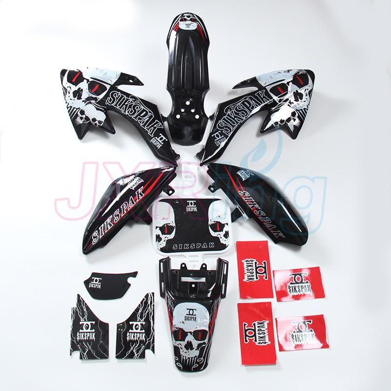 Plastic Fairing Fender Kit for CRF50 Dirt Pit Bike Motorcycle