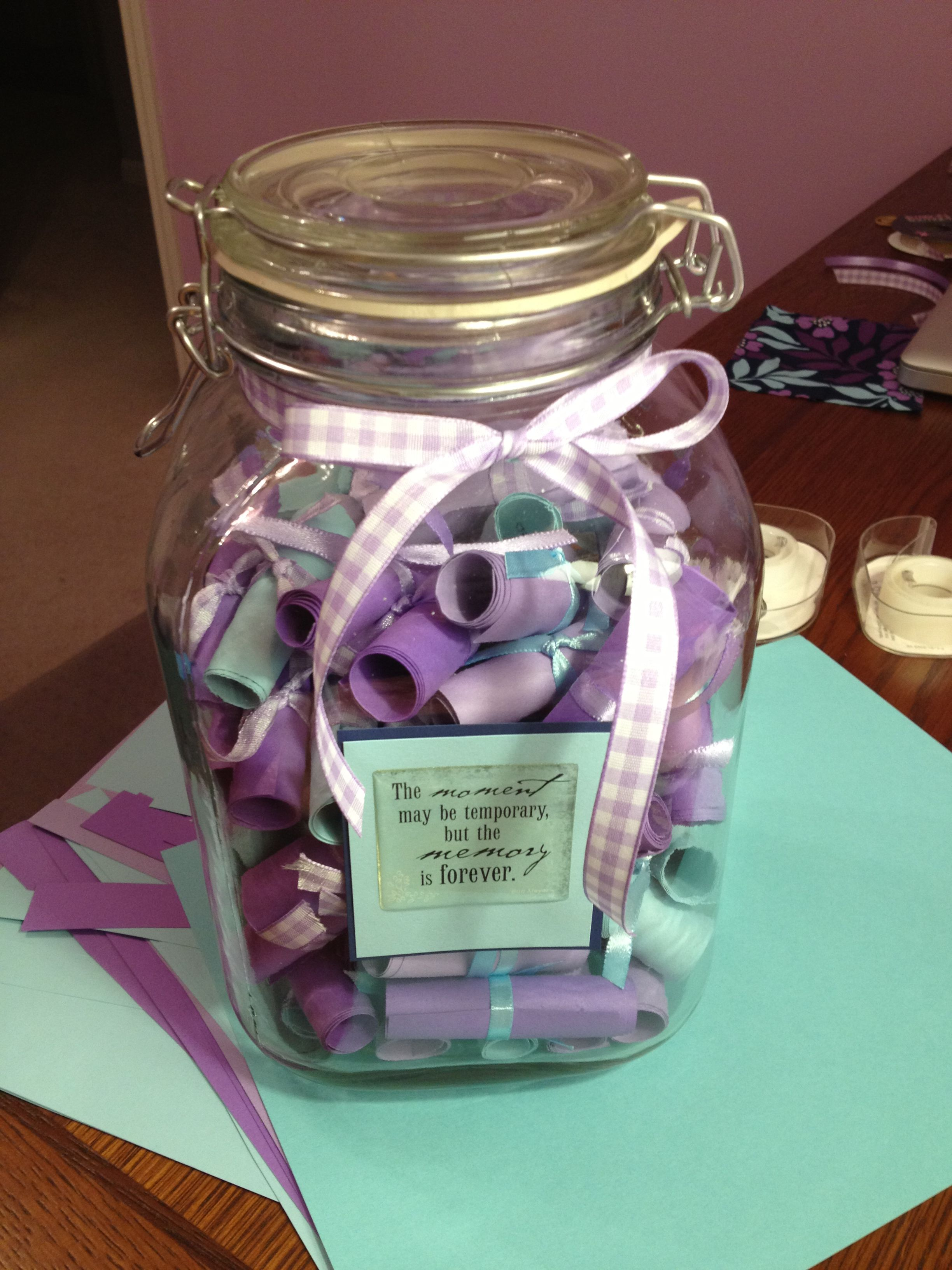 Pin By Melinda B On Me You Memory Jar Memory Jar Graduation Memory Jars