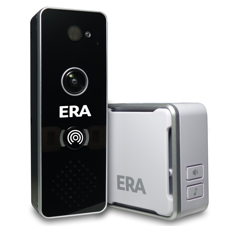 ERA DoorCam Smart Home WiFi Video Doorbell allows you to