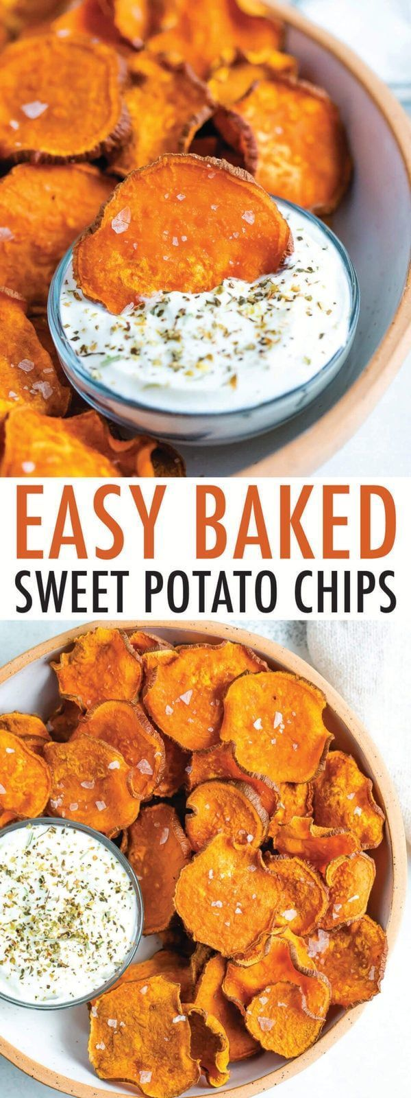 Baked Sweet Potato Chips Eating Bird Food Recipe Sweet Potato Chips Food Homemade Sweet Potato Chips