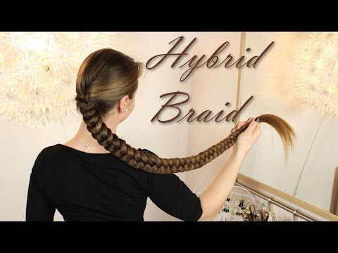 How to  Elastic Braid   dicker  volumin    ser Zopf   Haartraum     How to  Elastic Braid   dicker  volumin    ser Zopf   Haartraum   YouTube