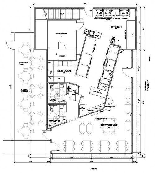 Restaurant Floor Plans Free Initial Consultation Restaurant