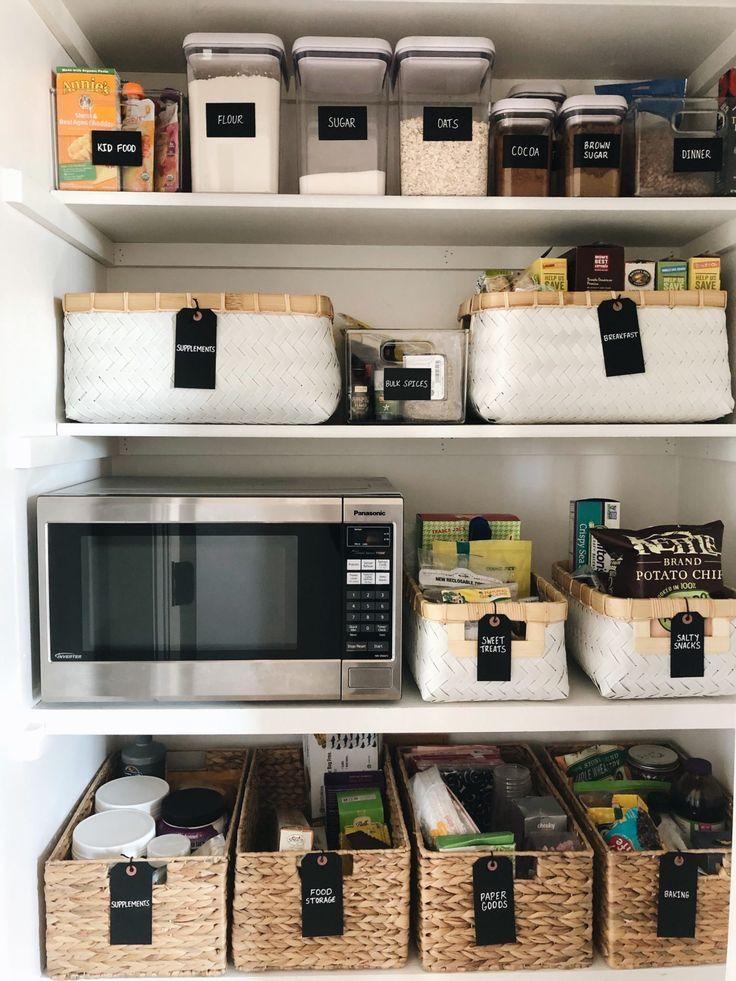 Organizacion De Despensa Y Cocina Con El Metodo Ordenado Okc Y La