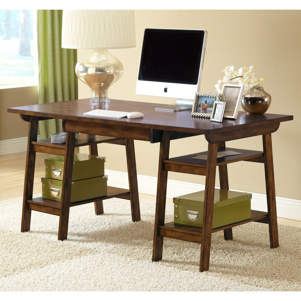 Parkglen Wood Home Office Desk By Hillsdale Furniture