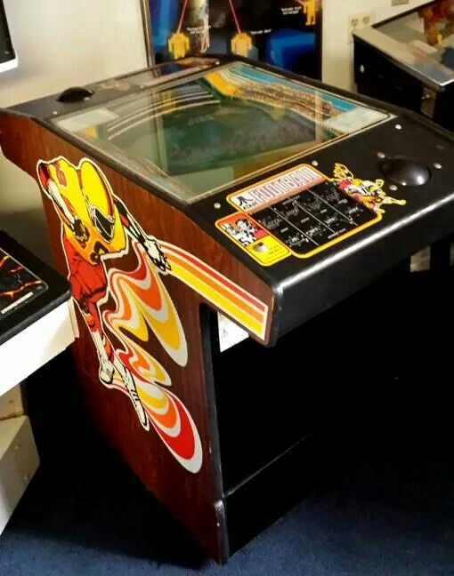 #Atari Football: This was the most fun game in the #arcade! Well... this and…