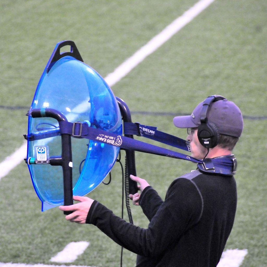 parabolic microphone   Mobile ham radio
