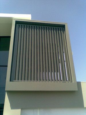 A Grade Aluminium Anodising Louver Windows Wall Cladding Window Styles
