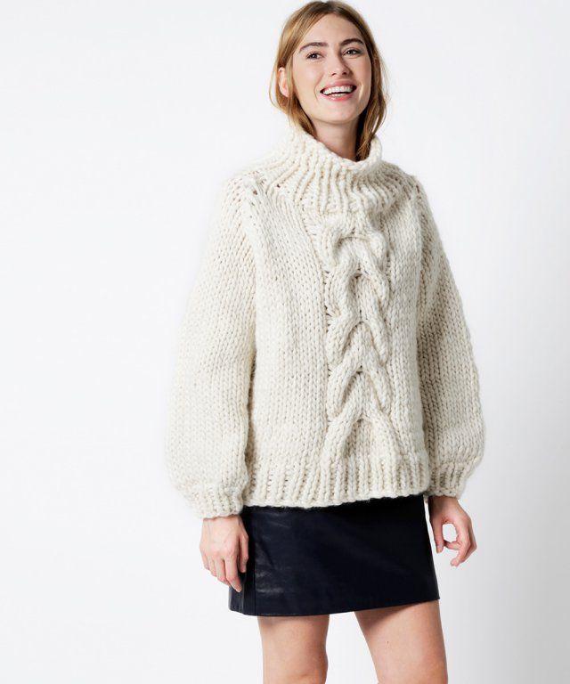 30 patrons pour tricoter un pull | Lana
