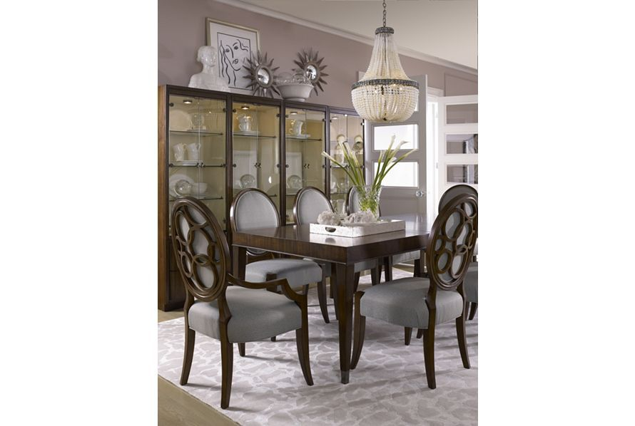 Giasana Dining Room Featuring Unity Parsons Table