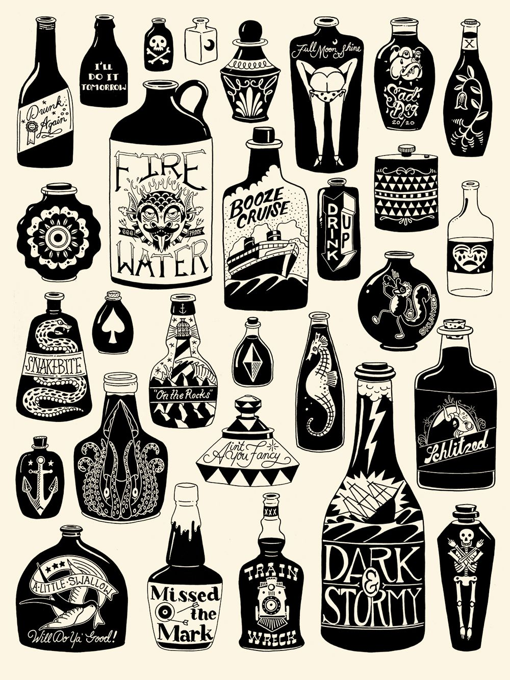 Bottle Tattoo Tattoos and