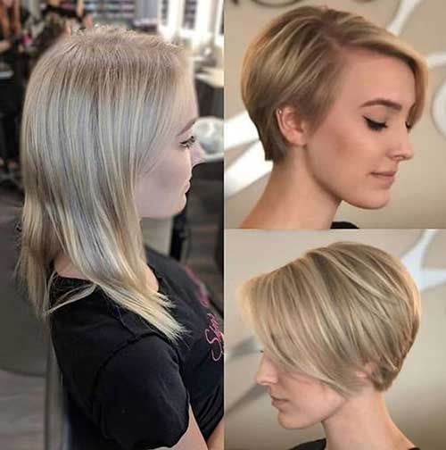 8 Cute Fine Short Haircuts For Women In 2020 Haircuts For Fine Hair Thick Hair Styles Short Hairstyles Fine