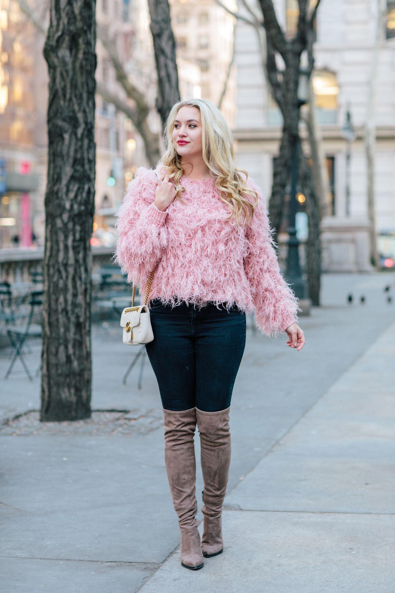 """ce43d4122e2 wkdangora  """"http   www.kayleighskloset.com 2018 02 fluffy-pink-sweater.html  """""""