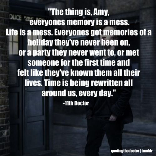 11th doctor quotes   Doctor Quotes :D