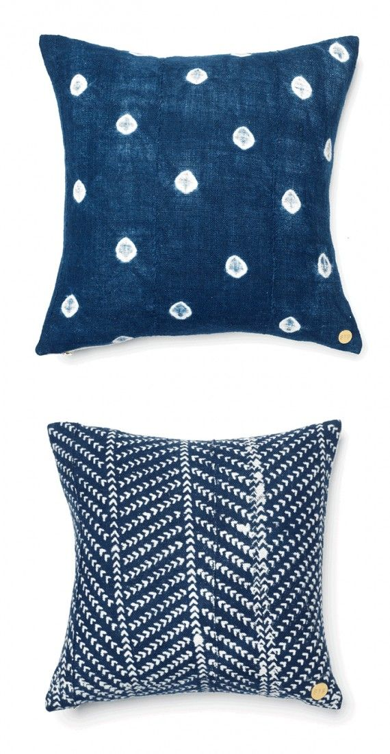 navy + white accent pillows | Bedroom Remodel | Pinterest ...