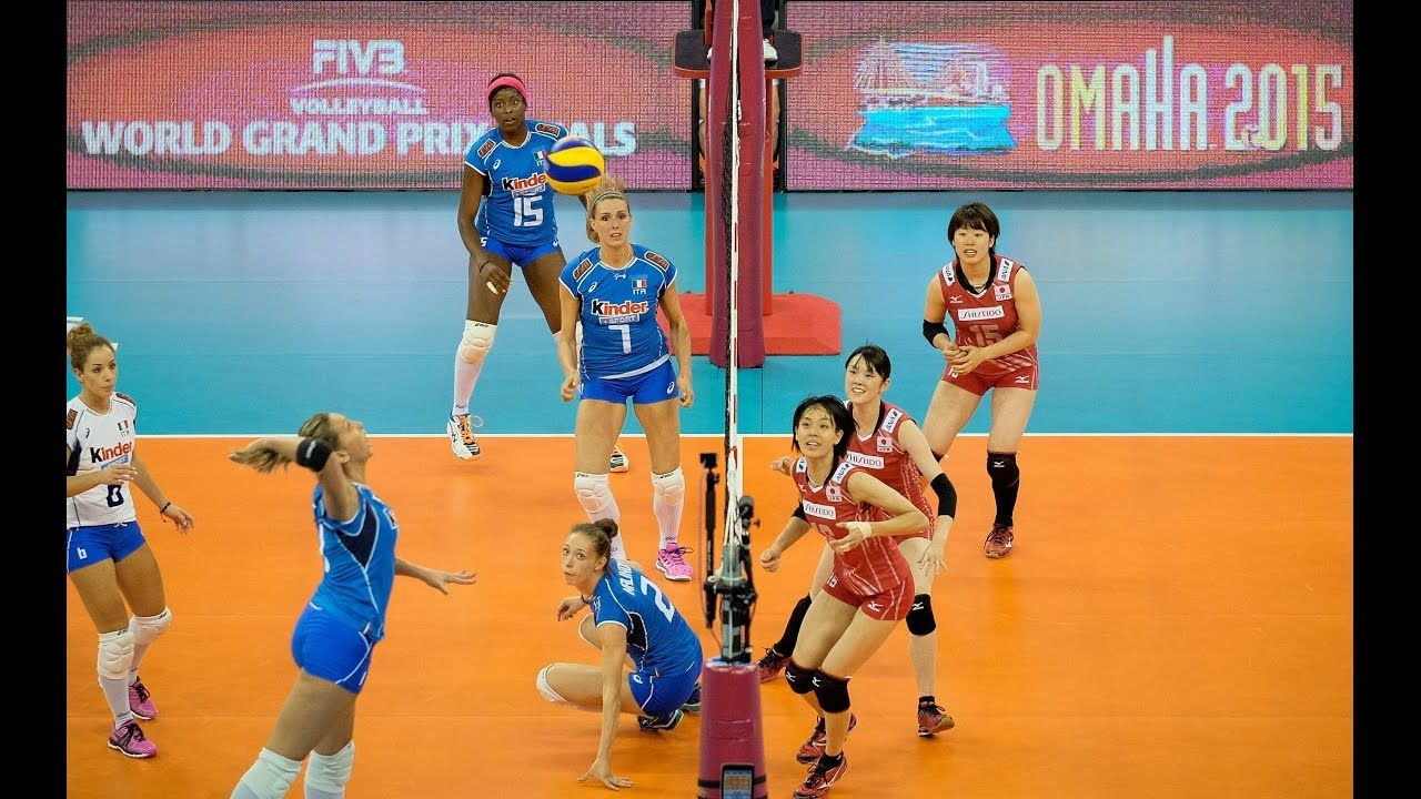 A Match 25 July 2015 Italy Vs Japan 2015 Fivb Volleyball World Gr