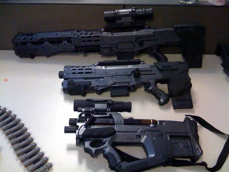 Nerf gun attachments