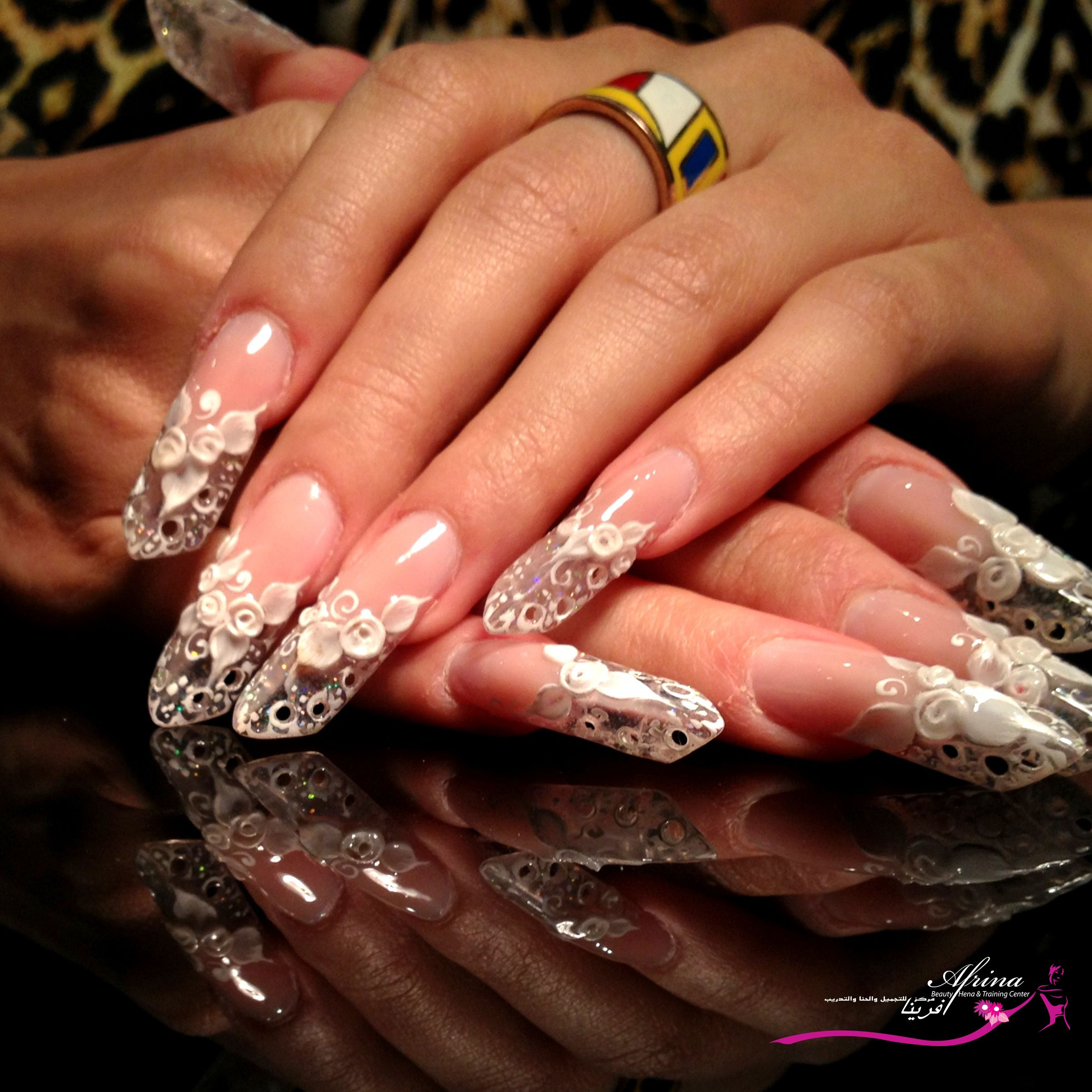 Be classy, be artistic check out our nails designs! check and book for nail designs in our branch!   #AfrinaBeauty #beautysalonUAE #Mirdiff #AfrinaBeautySalon #Dubai #Sharjah #nail #nailart #naildesign
