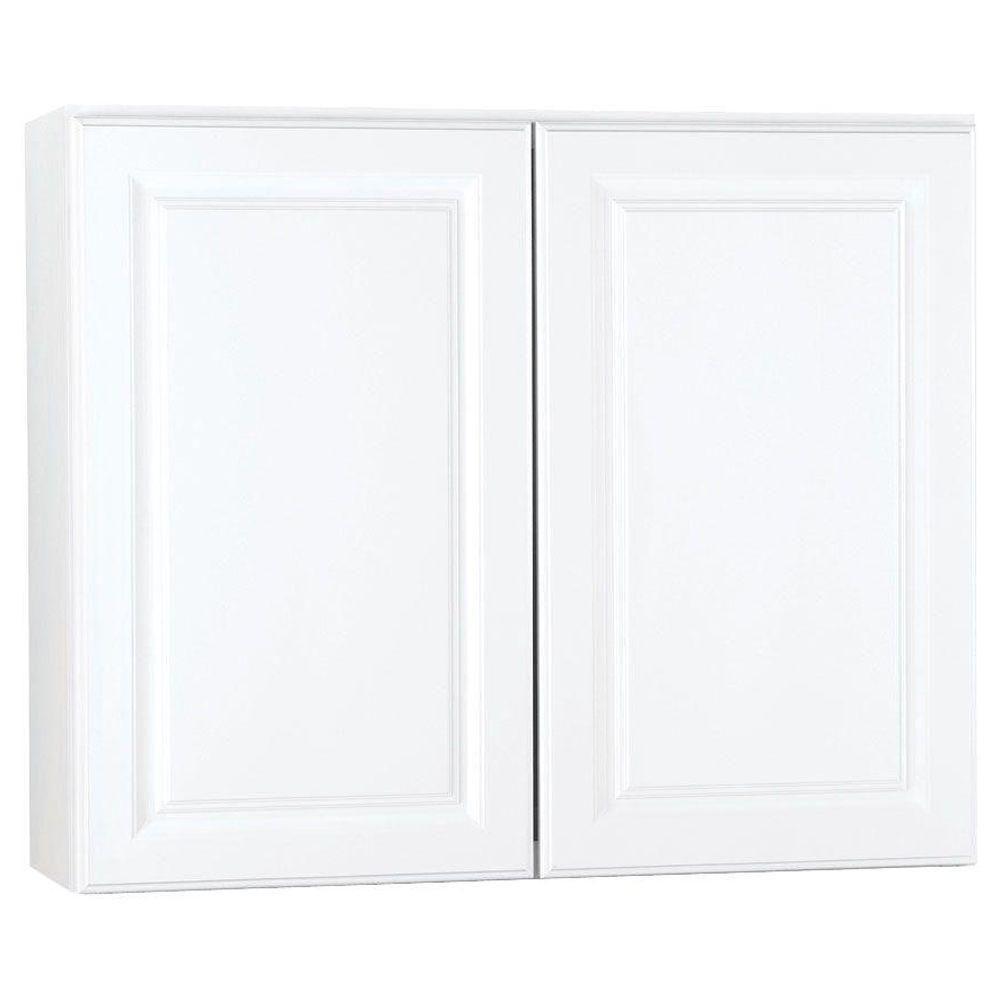 Hampton Bay Hampton Assembled 36x30x12 In Wall Kitchen Cabinet In
