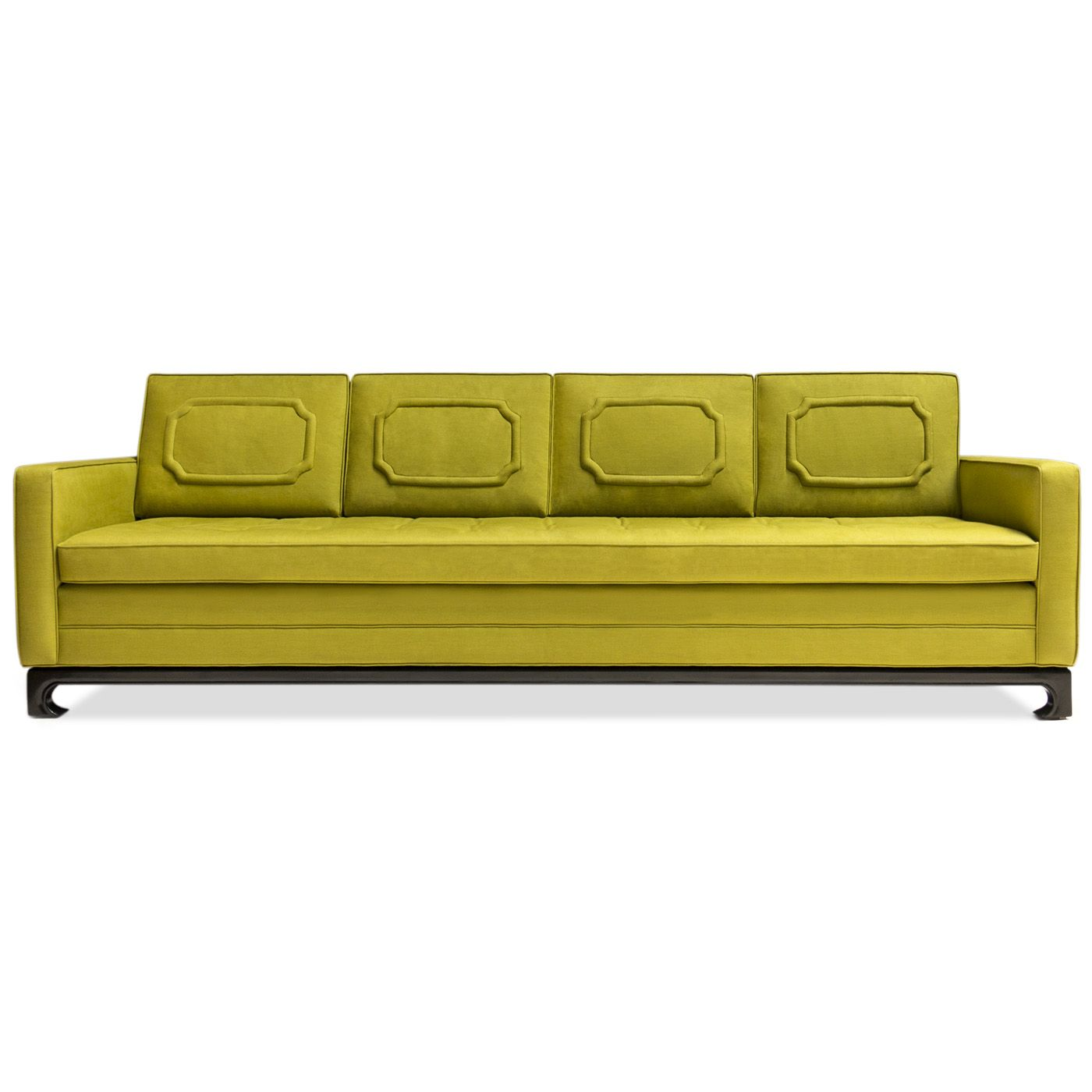 Jonathan Adler Peking Sofa In Living Room It S All About The Details Furniture