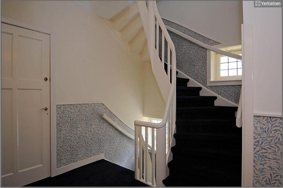 Idee voor trapgat huidig behang moet dan lichtgrijs for Behang trapgat