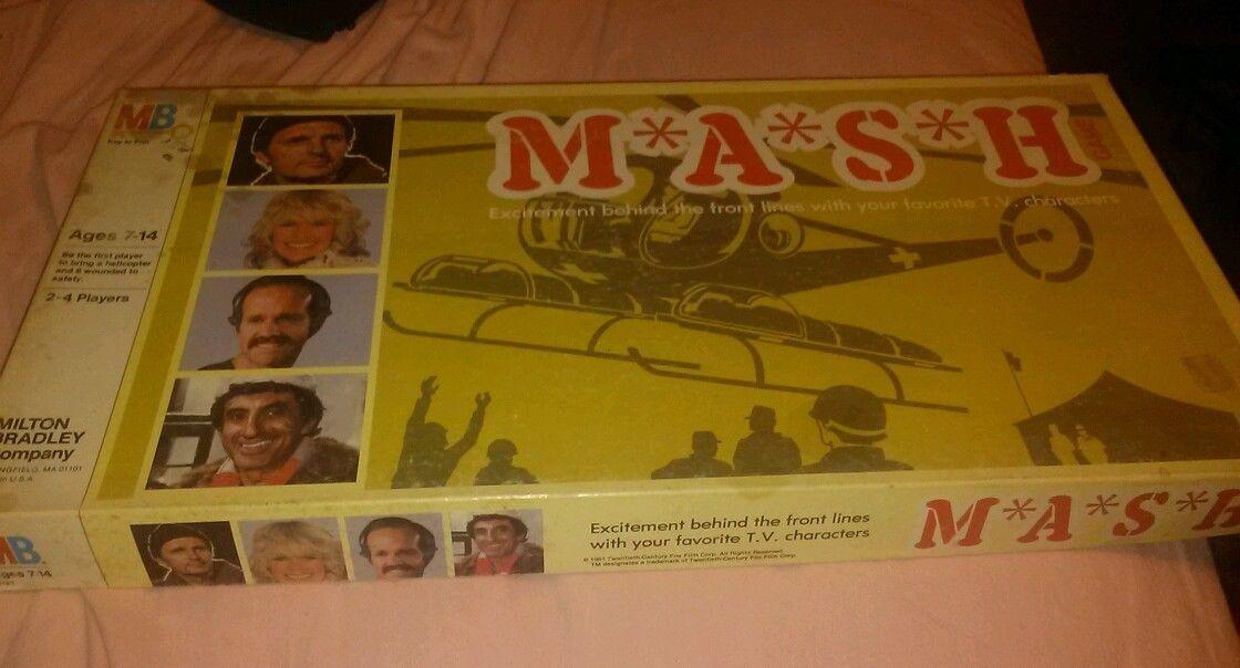Vintage 1981 mash 4077 board game korean war alan alda cbs show complete klinger