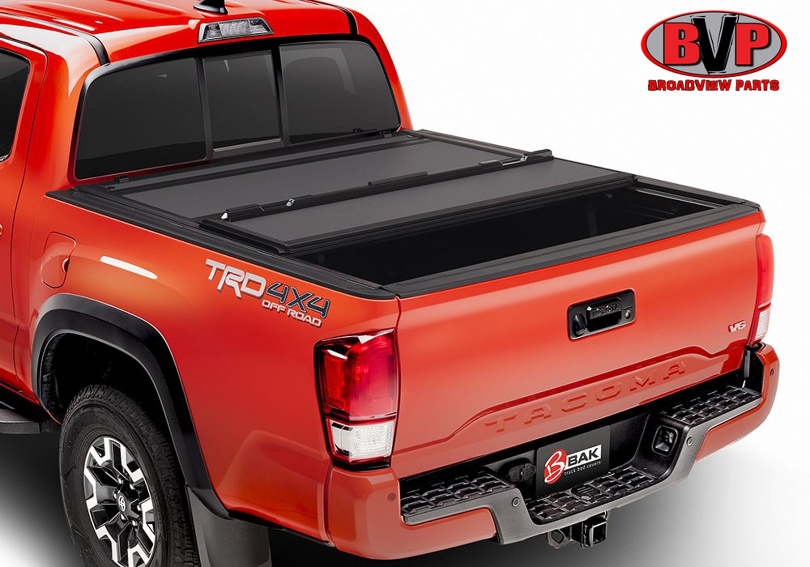 BAKFlip MX4, Truck Bed TriFold Cover which features heavy
