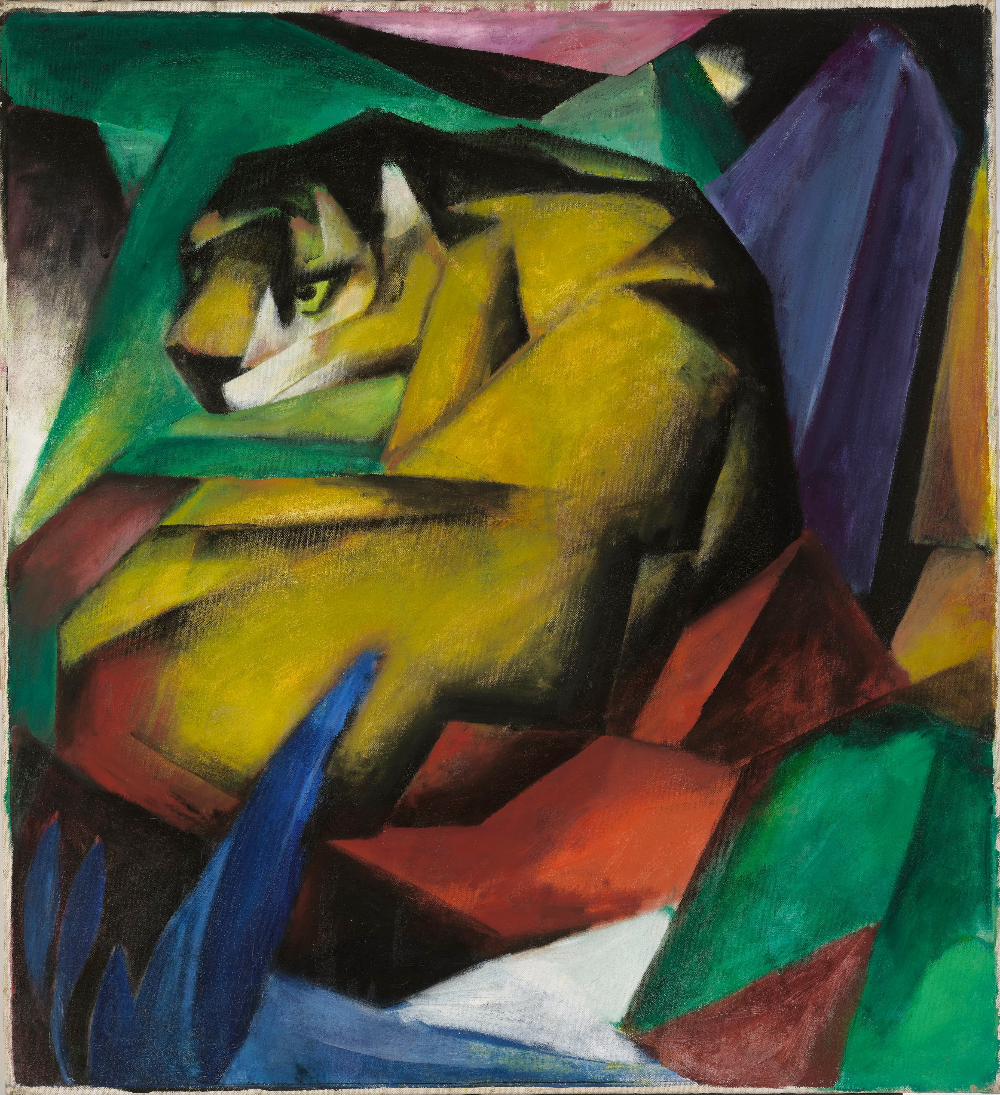 Key-Works: 'Tiger' by Franz Marc - signifier - Medium