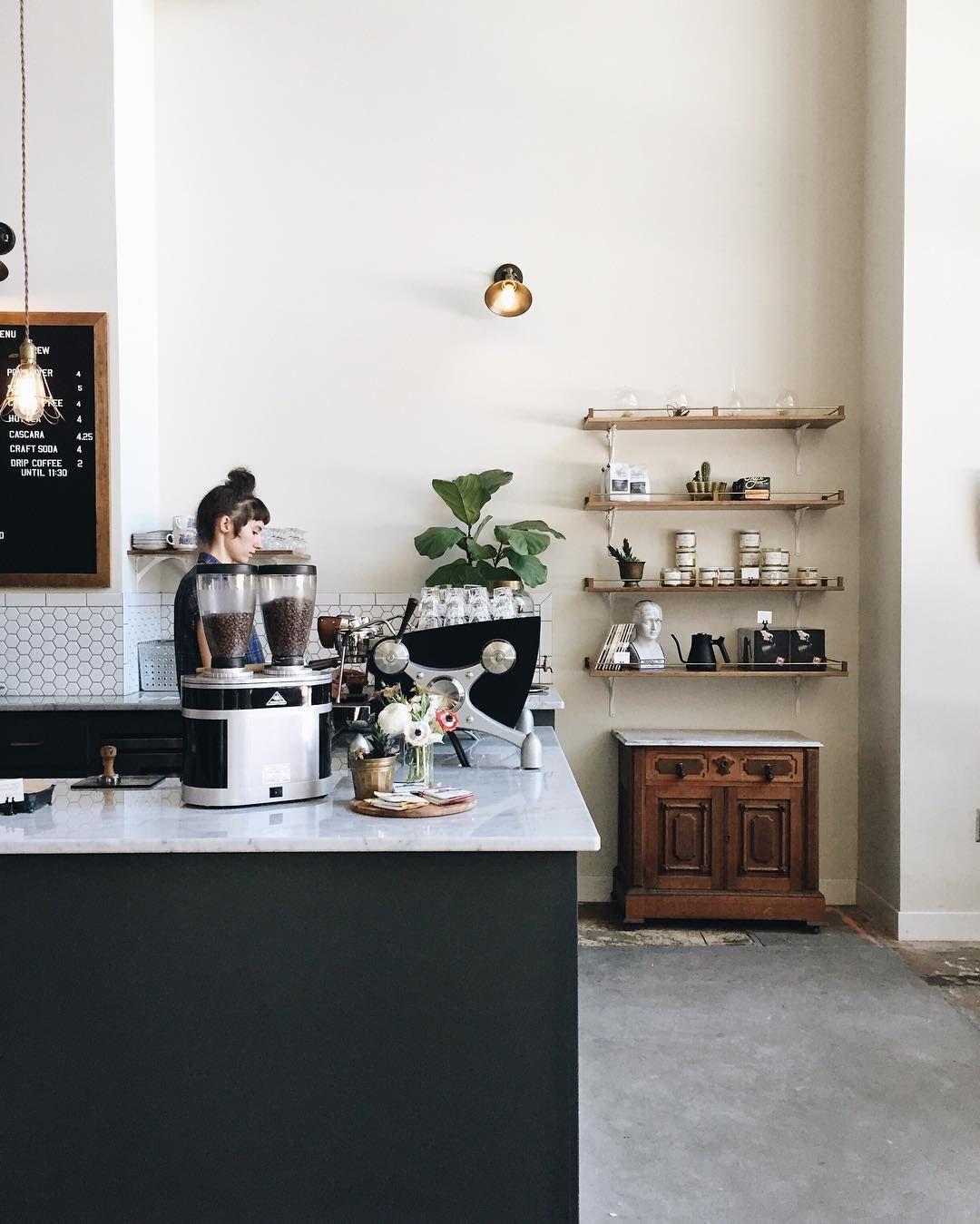 Methodical Coffee In Greenville Sc Restaurant Interior Interior Coffee Kitchen