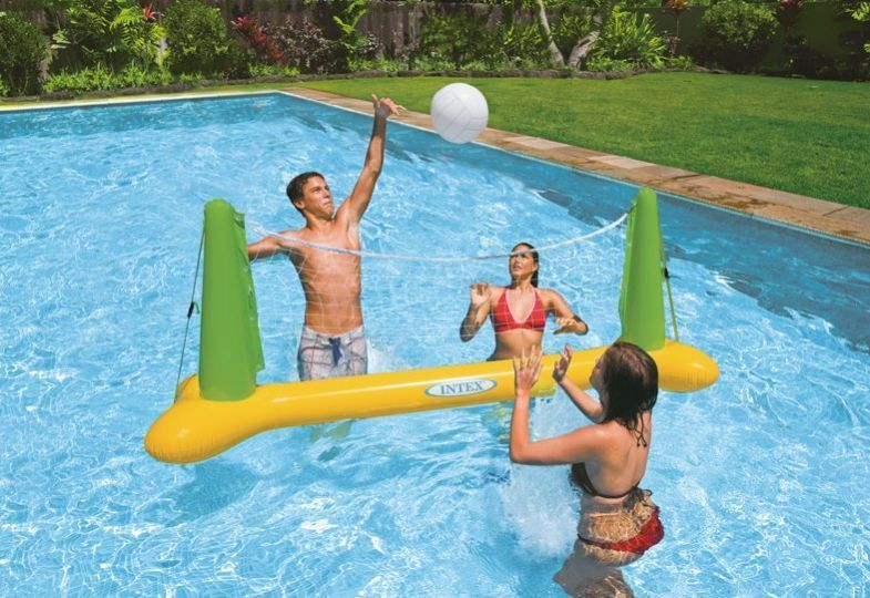 Pool Volleyball Game Inflatable Pool Toys Pools Toys And Swimming Pools And Spas Swimming Pool Toys Inflatable Swimming Pool Inflatable Pool